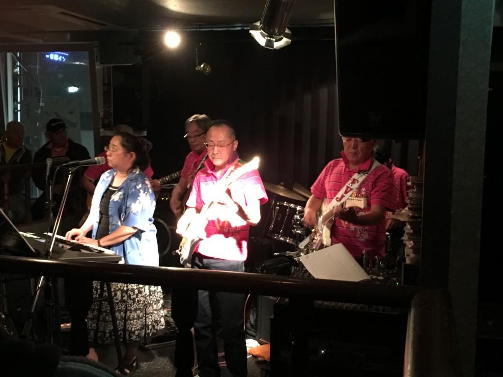 福島ベンチャーズライブ@時代屋 ミュージックウォークラリー2015